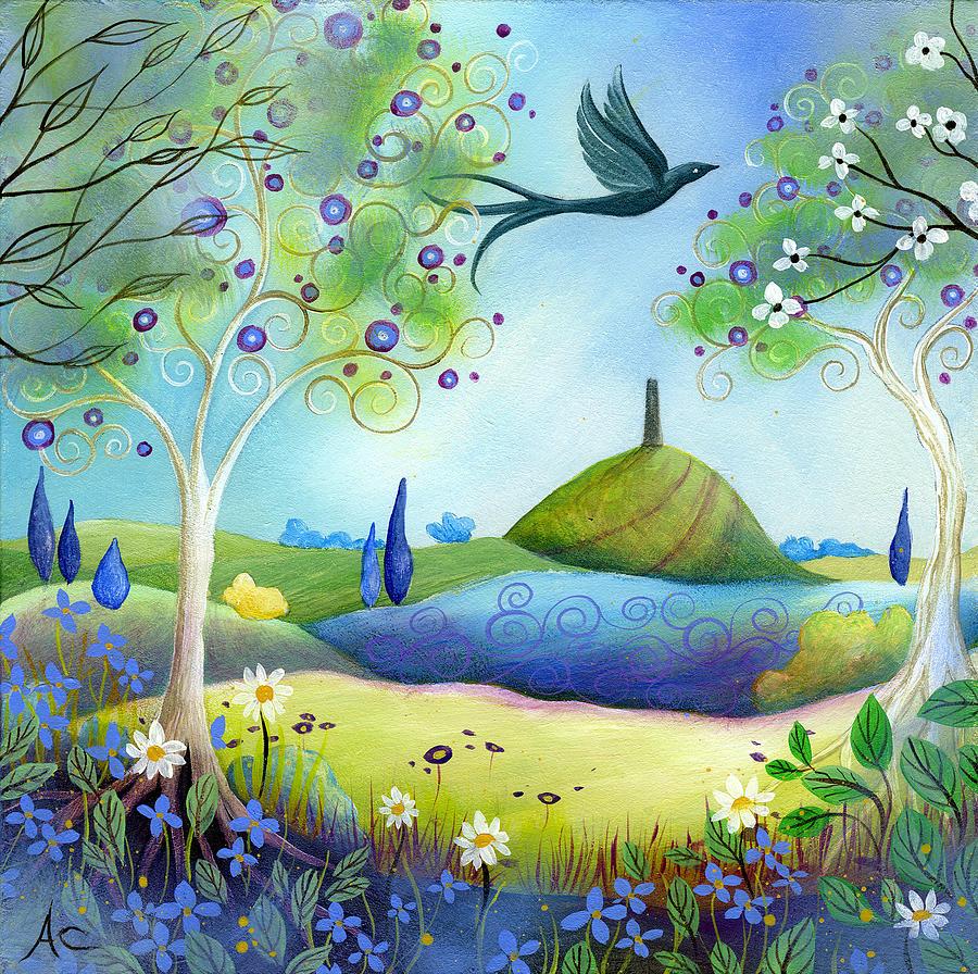 Spring Painting - Spring Light by Amanda Clark