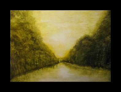 Spring Loire Painting by Vanessa Grant