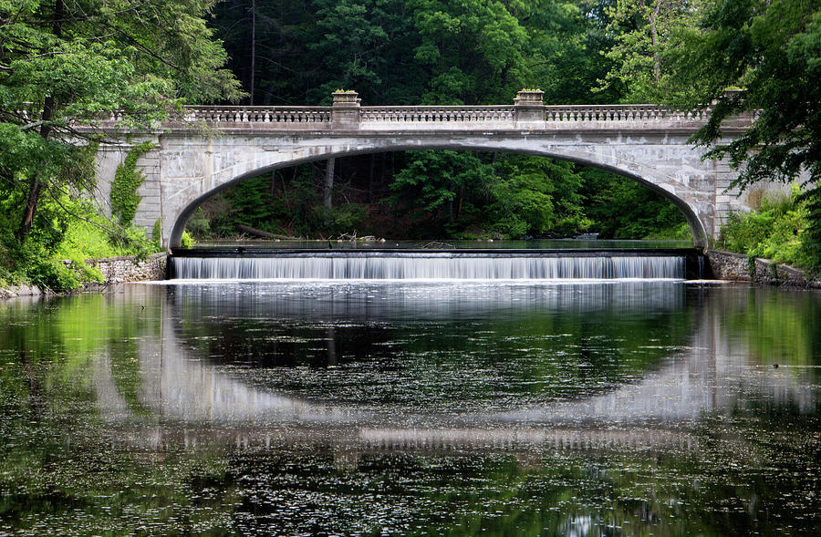 Architecture Photograph - Spring Morning At White Bridge II by Jeff Severson