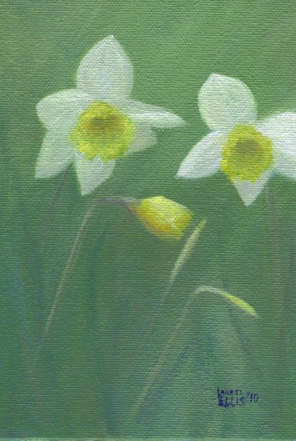 Flowers Painting - Spring Morning by Laurel Ellis
