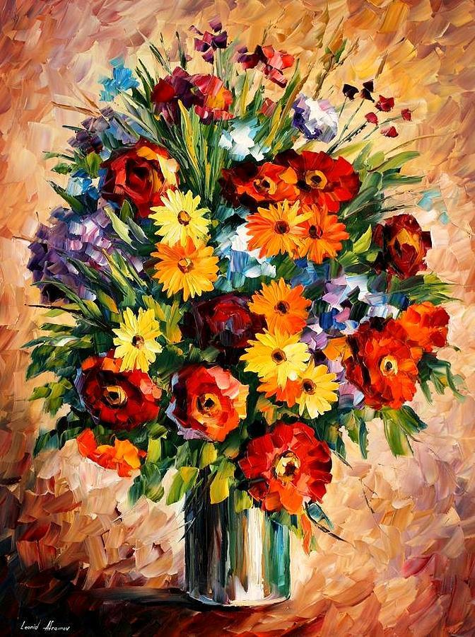 Afremov Painting - Spring Passion by Leonid Afremov