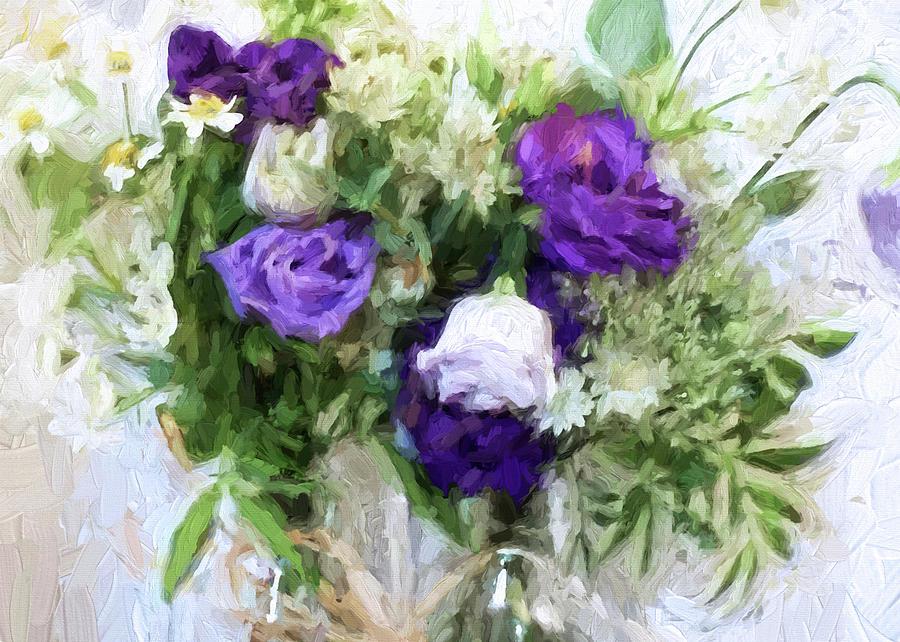 Flowers Digital Art - Spring Passion by Sarah Vernon