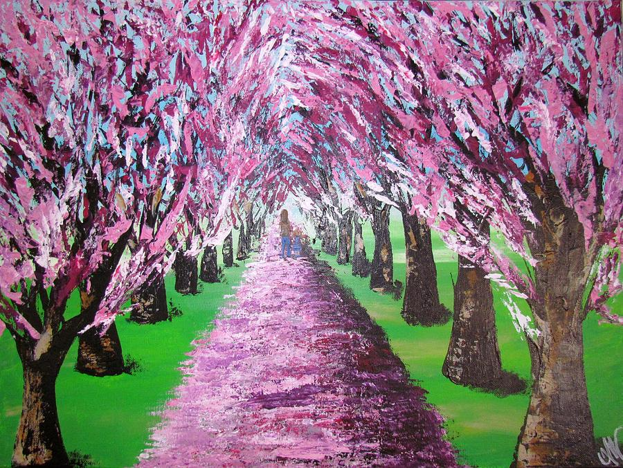 Spring Path by Mandy Joy