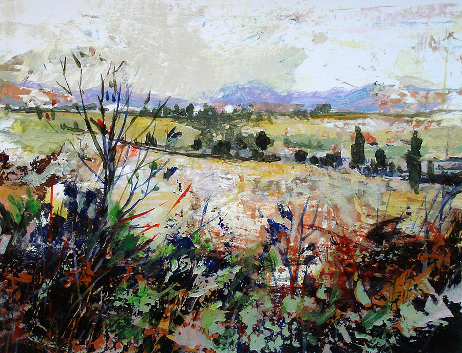 Landscape Painting - Spring Rain by Dale  Witherow