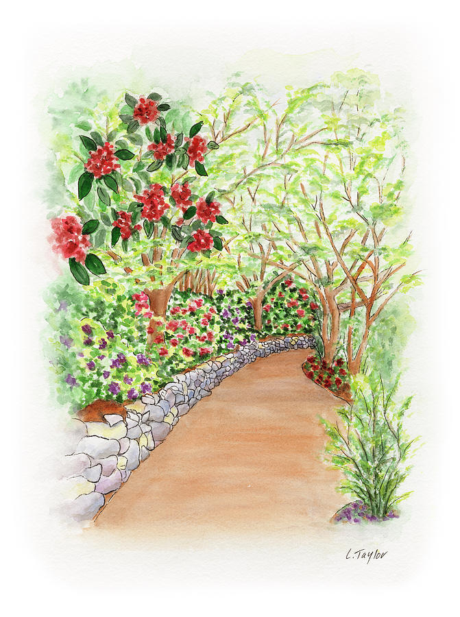 Spring Rhodies by Lori Taylor