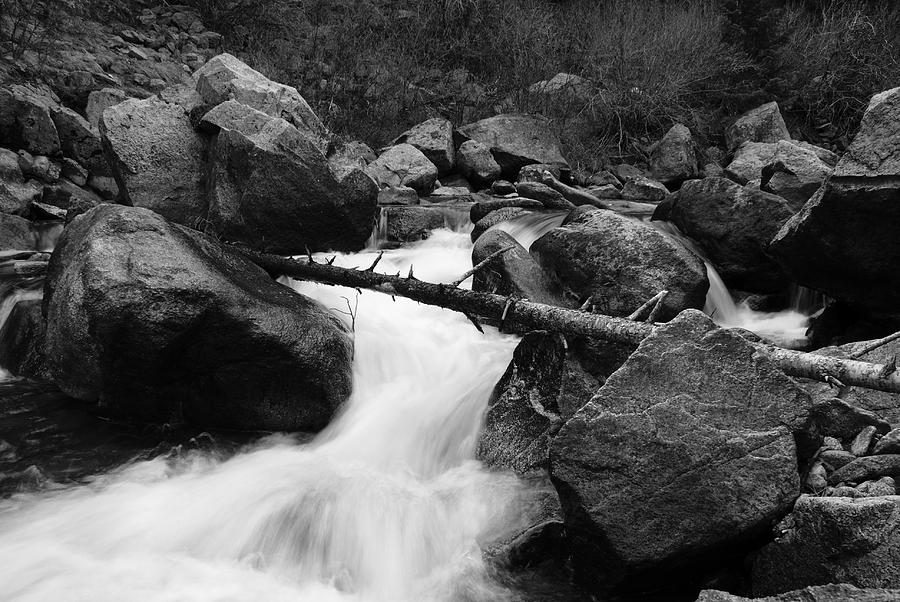 Water Photograph - Spring Run by Brian Anderson