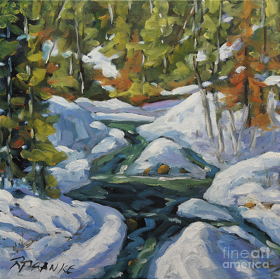 Spring Run Off by Richard T Pranke