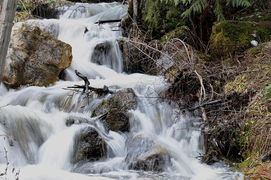 Water Photograph - Spring Runoff by Athena Ellis