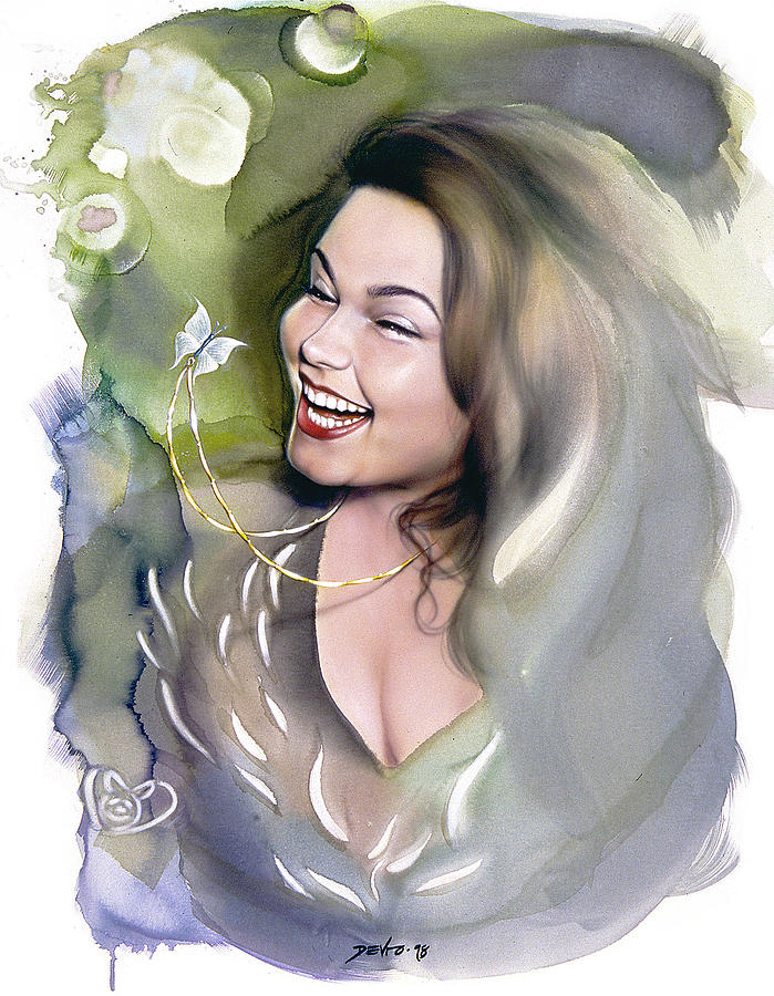 Portrait Painting - Spring by Salvatore DeVito