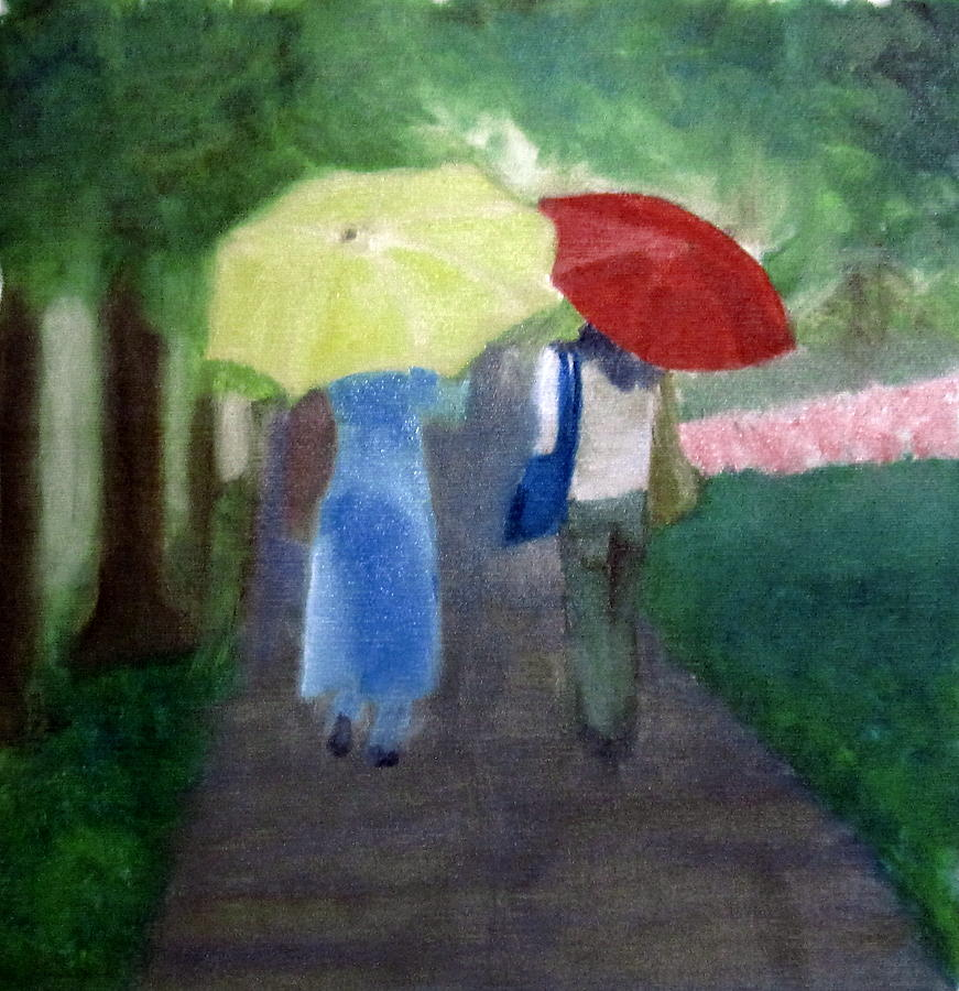 Impressionist Painting - Spring Series Iv by Patricia Cleasby
