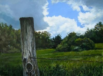 Landscape Painting - Spring Sky by William Brody