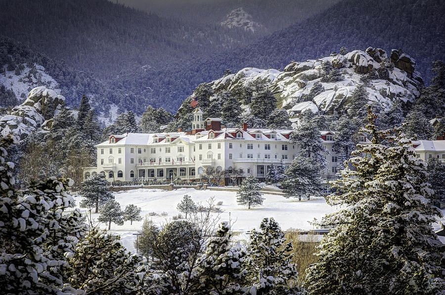 Spring snow at The Stanley by G Wigler