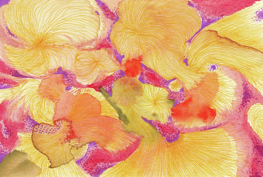 Spring Drawing - Spring - #ss18dw009 by Satomi Sugimoto