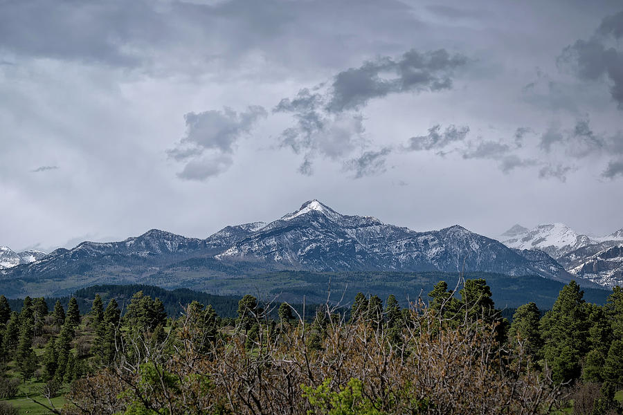 Spring Storm Behind Pagosa Peak by Jason Coward
