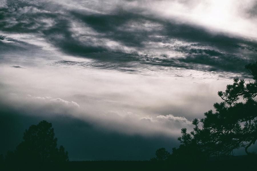 Nature Photograph - Spring Storm Cloudscape by Jason Coward