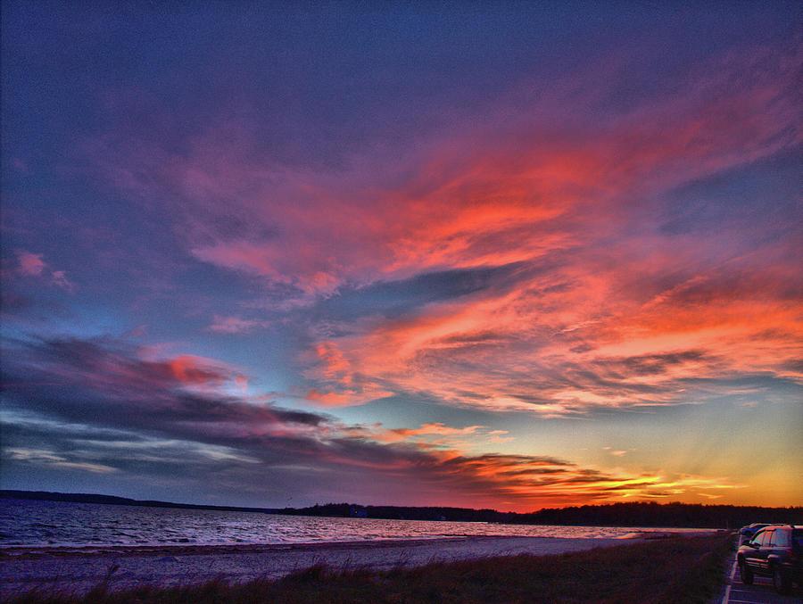 Spring Sunset by Bruce Gannon
