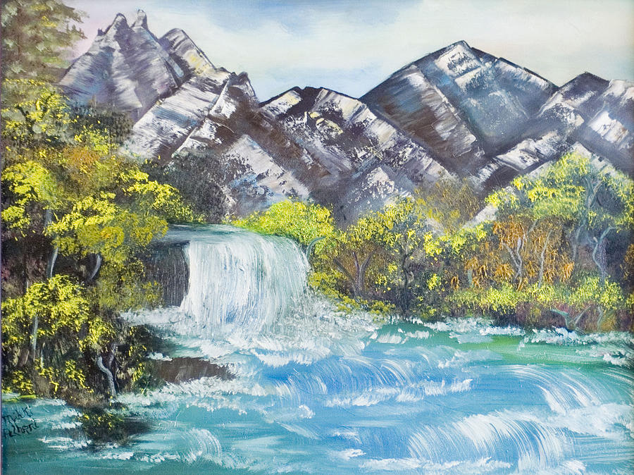 Oil Painting - Spring Thaw by Mikki Alhart