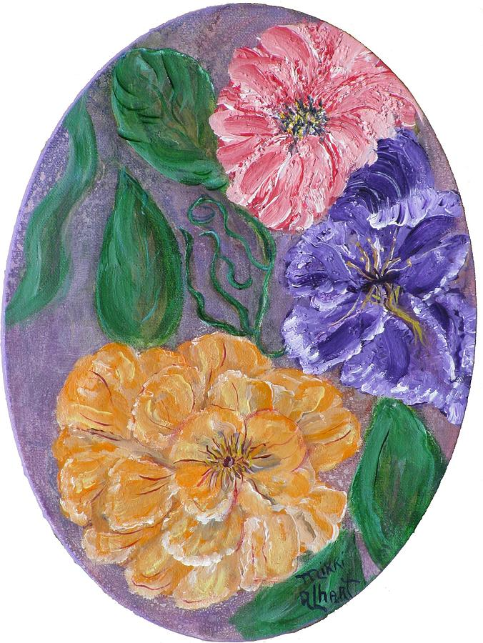 Floral Painting - Spring Time by Mikki Alhart