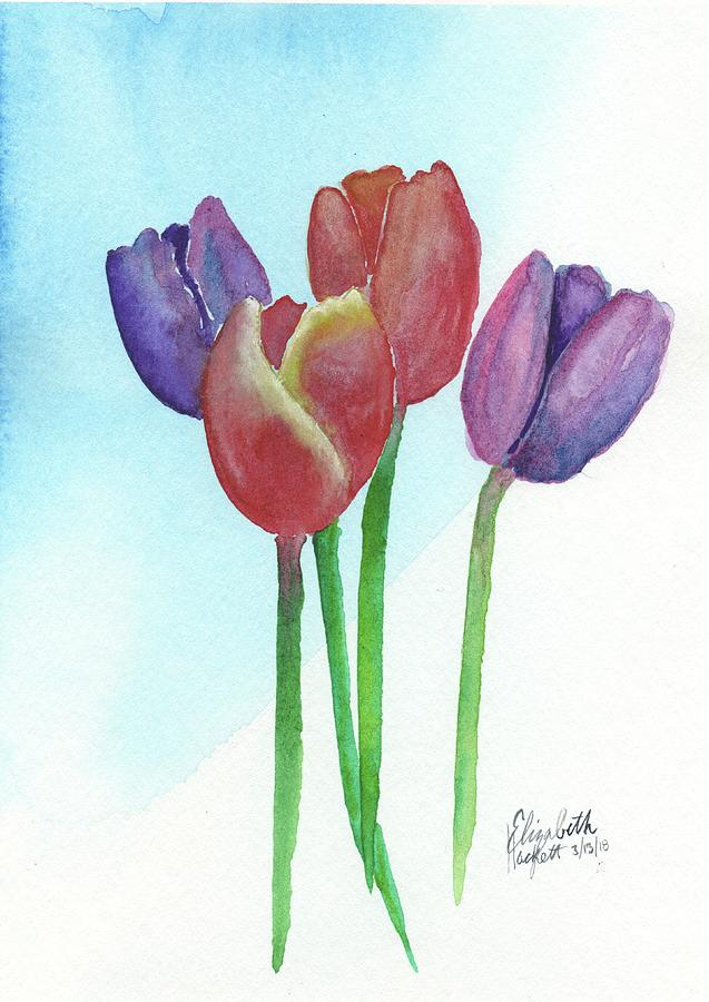 Spring Tulips by Betsy Hackett