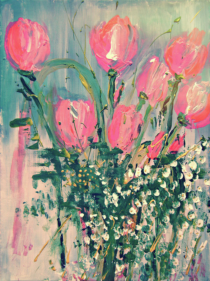 Spring Tulips by Colleen Ranney