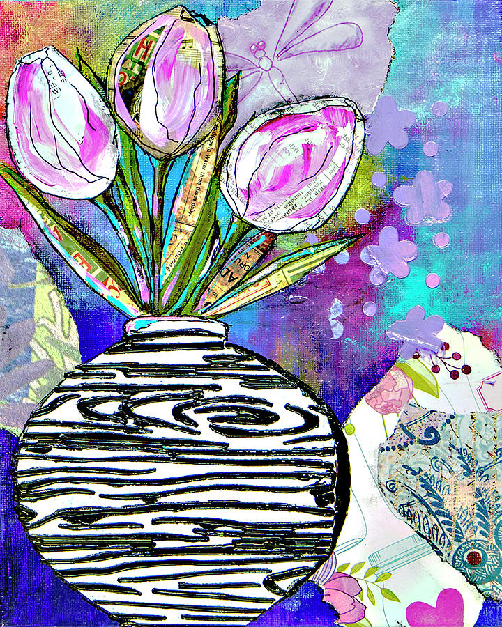 Spring Tulips by Wendy Provins