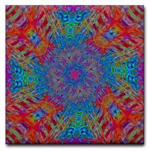 Spring Digital Art - Spring Twist Art Tile by Jean Petree