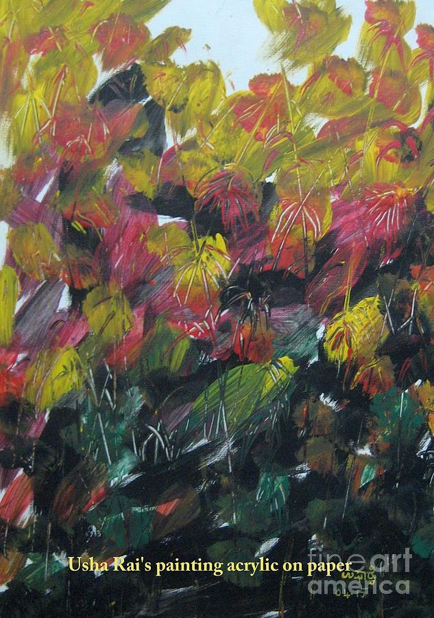 Spring Time Painting - Spring by Usha Rai