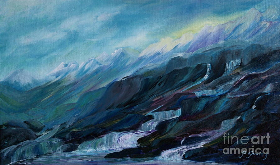 Water Painting - Spring Water by Joanne Smoley