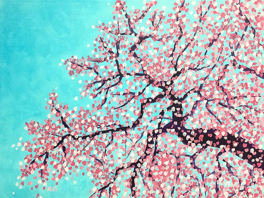 Nature Painting - Spring by Wonju Hulse