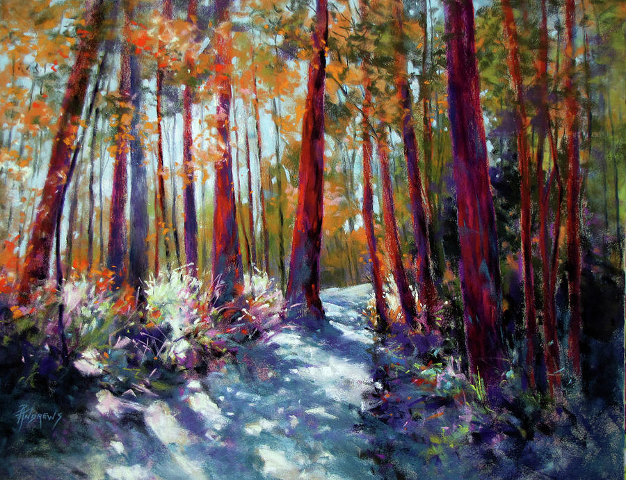 Landscape Painting - Springbrook Dynamic by Rae Andrews