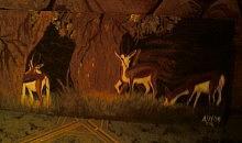 Springbuck Painting - Springbuck In Bush by Amelia Jooste