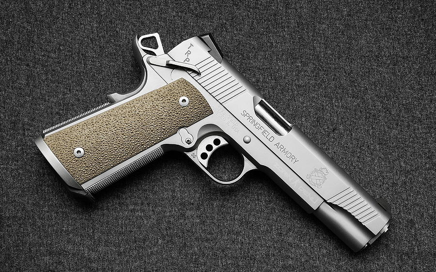 Springfield Armory 1911 Pistol by Angie Fraley