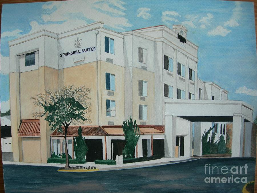 Hotel Painting - Springhill Suites Orlando Florida by Palma Poochigian
