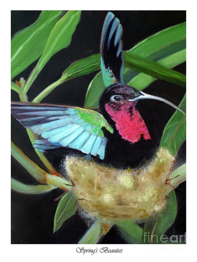 Springs Beauties Painting by Linda Mungerson