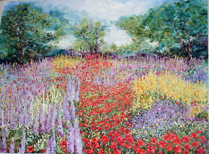 Landscape Print - Springs Glorious Arrival by Wanda Kippenbrock