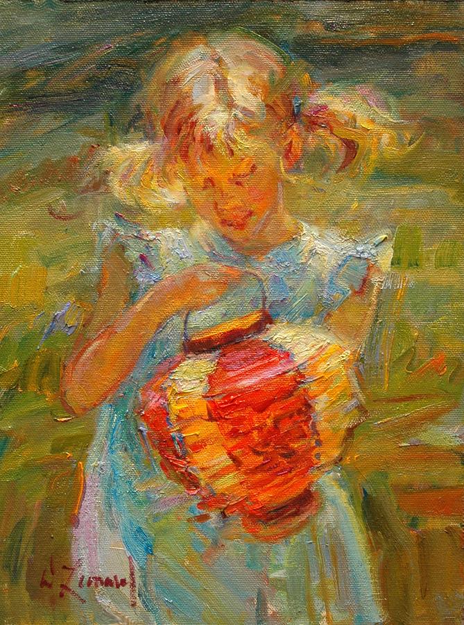 Impressionist Painting - Springs Magic by Diane Leonard