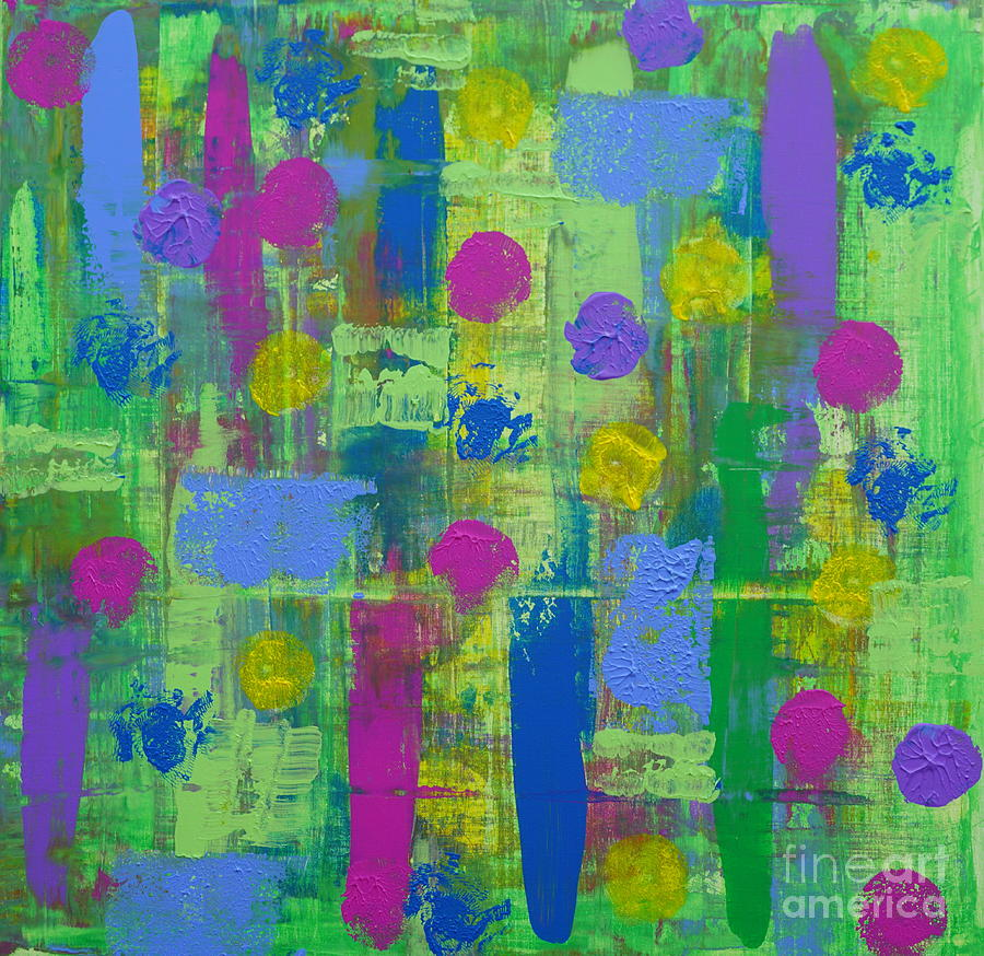 SpringTime Abstract by Jimmy Clark