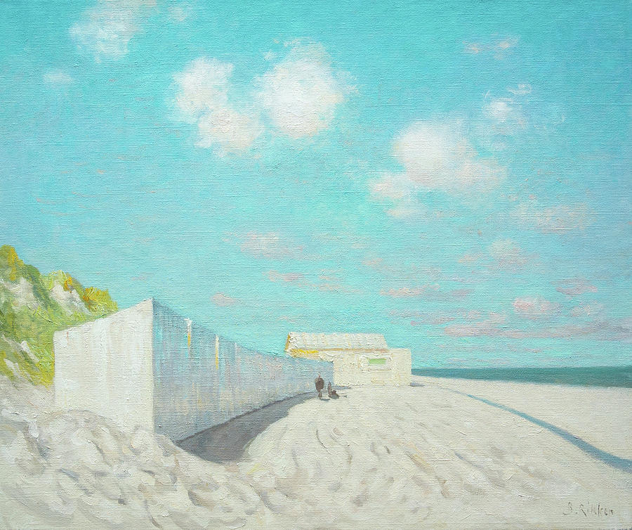 Springtime Painting - Springtime At The Beach by Ben Rikken