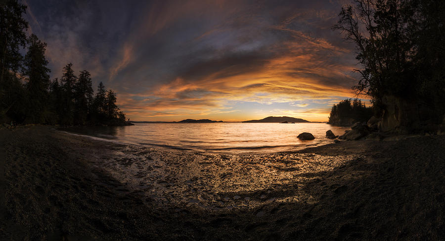 Sunset Photograph - Springtime Fire by Ryan McGinnis
