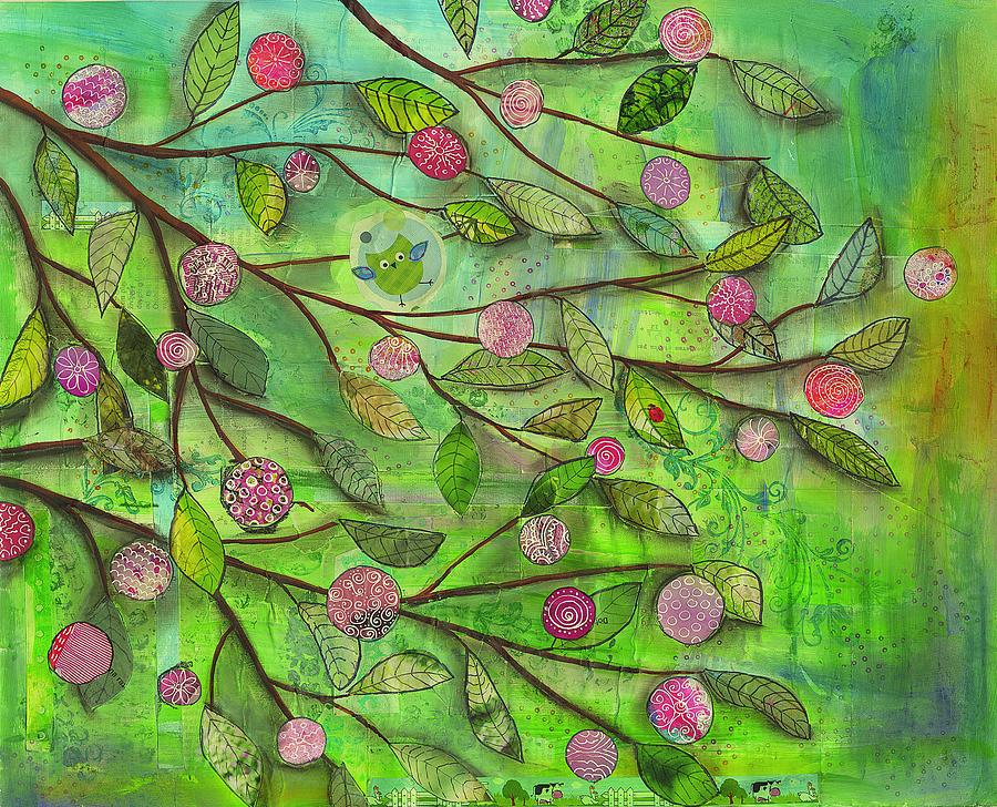 Springtime Mixed Media by Kras Arts