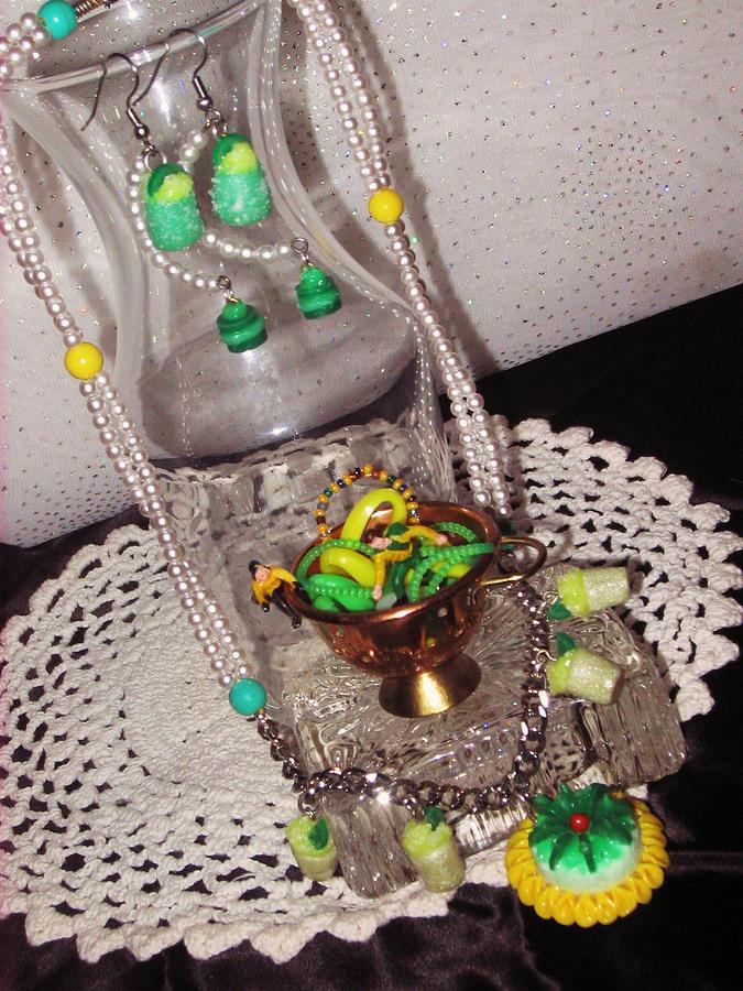 Spring Jewelry - Springtime Tea Party Jewelry Set by Jamie Pool