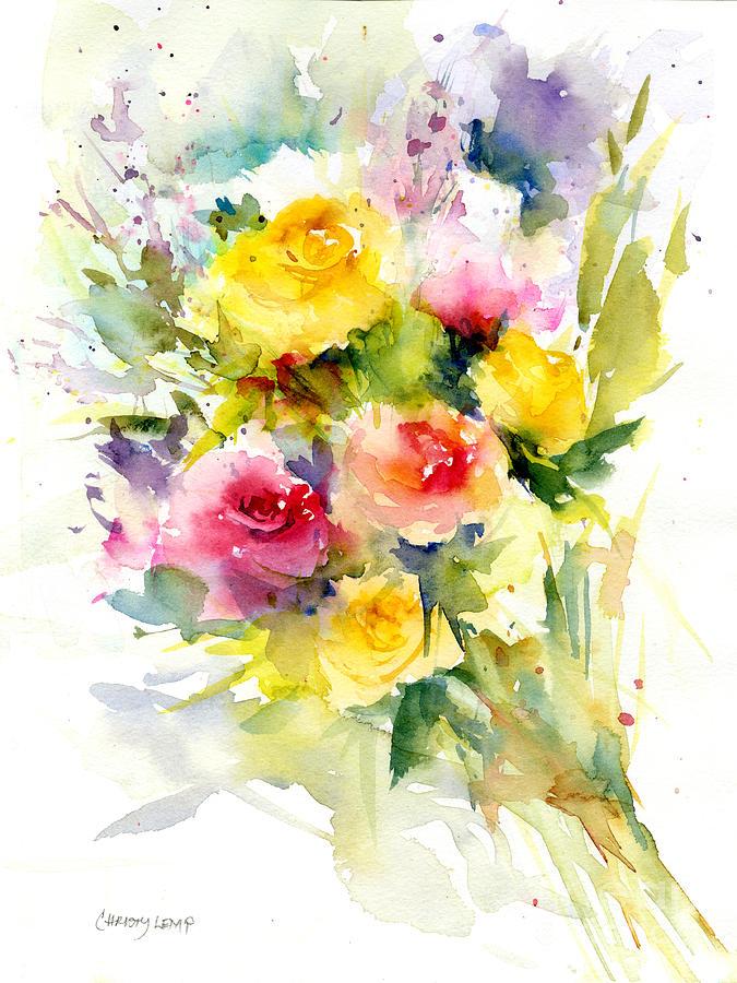 Springy Roses by Christy Lemp