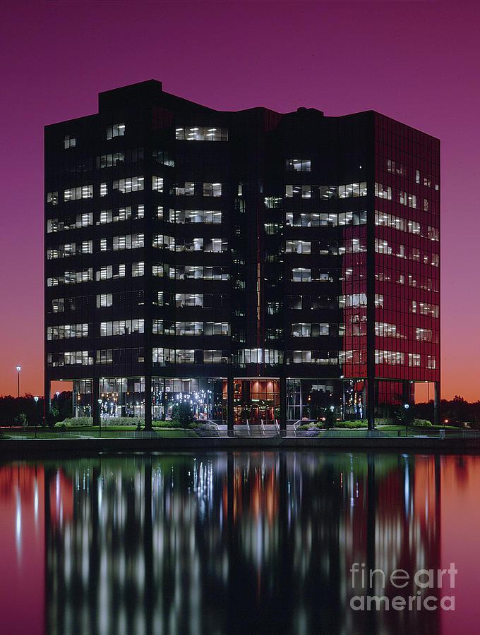Exterior Photograph - Sprint-metcalf Sunset by Gary Gingrich Galleries