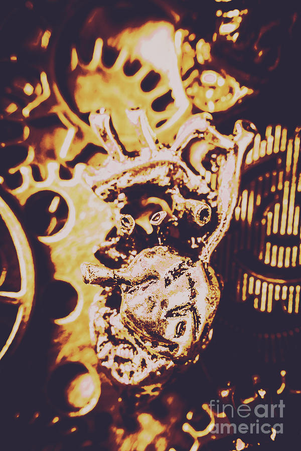 Gear Photograph - Sprockets And Clockwork Hearts by Jorgo Photography - Wall Art Gallery