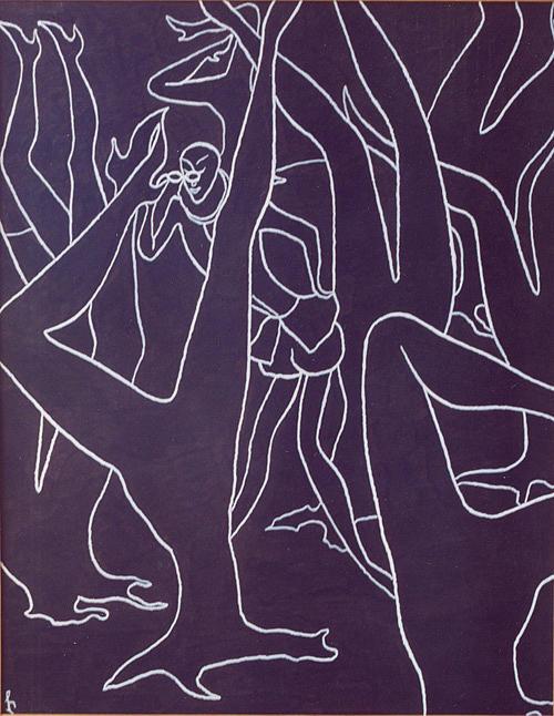 Spy Print by Lia Chechelashvili