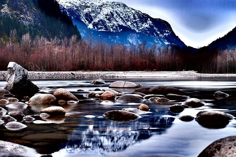 Landscape Photograph - Squamish River by Ryan Tindall