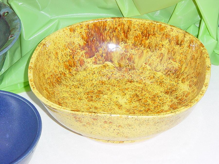 Pottery Ceramic Art - Square Bowl by Dawn Kleinman