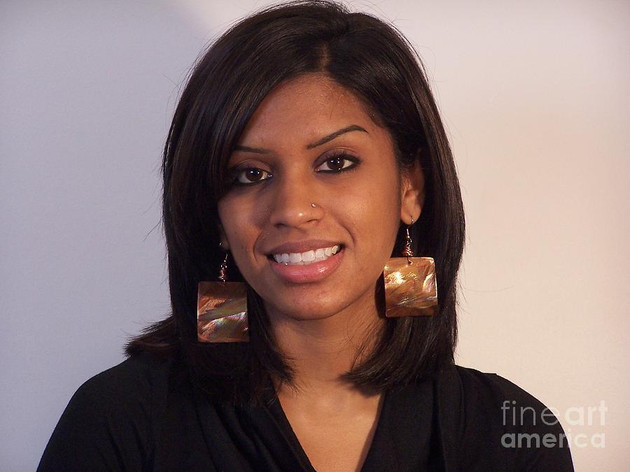 Copper Earrings Jewelry - Square Copper Earrings by Jeff Williams