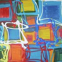 Squares Painting - Squares by Sarah LaRose Kane