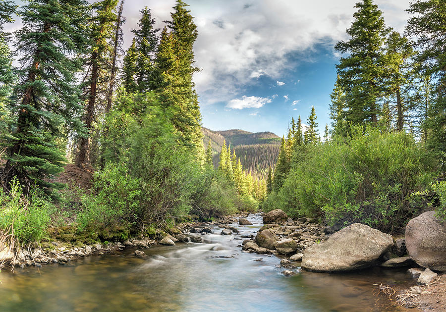Squaw Creek, Colorado by Adam Reinhart